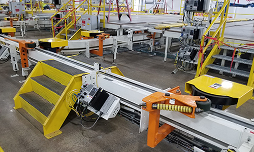 inverted friction conveyor