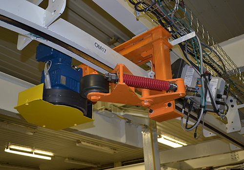 ASI Friction Overhead Conveyor Drive
