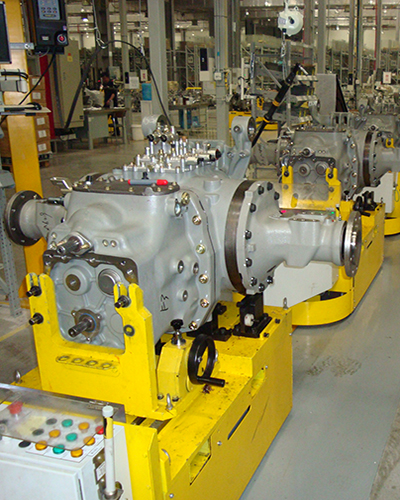 Transmission delivery AGC