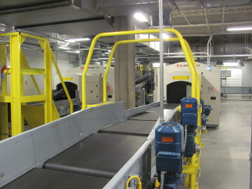 out bound security conveyor